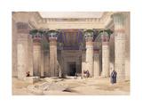Grand Portico of the Temple of Philae - Nubia, 1842-1849 Giclée-Druck von David Roberts