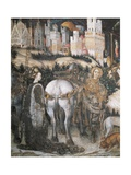 St George and the Princess, 1433-1435 Giclée-tryk af Antonio Pisanello