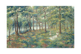 Madame Lebasque and Her Son on the Bank of the Marne, 1899 Giclee Print by Henri Lebasque