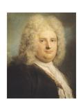 Portrait of French Consul Leblond Giclee-trykk av Rosalba Carriera