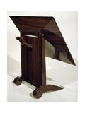 Art Deco Style Cla-Cla Table, Ca 1925 Gicléetryck av Jacques-emile Ruhlmann