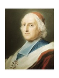 Portrait of Cardinal De Polignac Giclee-trykk av Rosalba Carriera