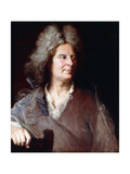 Portrait of a Sculptor, Said to Be Robert Le Lorrain Giclee Print by Hyacinthe Rigaud