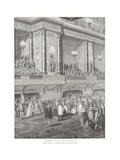 The Coronation Oath of King Louis XVI of France, 1775 Giclee Print by Jean Michel the Younger Moreau