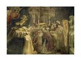Episode from the Old Testament Giclée-Druck von Guariento Di Arpo