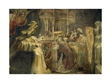 Episode from the Old Testament Giclee Print by Guariento Di Arpo