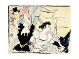 At the Masked Ball-Parisian Festivities-New Revels, 1892 Lámina giclée por Henri de Toulouse-Lautrec