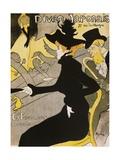 Poster for Divan Japonais Lámina giclée por Henri de Toulouse-Lautrec