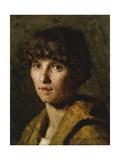 Portrait of a Woman, 1887 Giclee Print by Giuseppe Pellizza da Volpedo