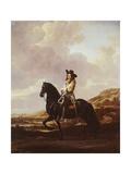 Equestrian Portrait of Pieter Schout Giclee Print by Thomas de Keyser