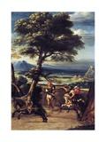 Landscape with Absalom Wounded Giclée-Druck von Giovanni Battista Viola