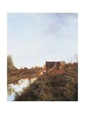 Canal at Graveland, 1818 Giclée-Druck von Pieter Gerardus van Os
