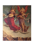 Angel Musicians, Detail from Coronation of Virgin Giclée-vedos tekijänä Carlo Crivelli