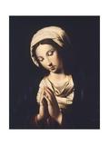 The Virgin Giclee Print by  Giovanni Battista Salvi da Sassoferrato