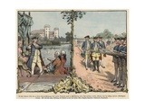 Crown Prince Frederick of Prussia at Rheinsberg and Neuruppin Giclee Print by Richard Knoetel