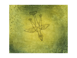 Down the More Troubling Bird; Herabstossender Vogel, 1925 Giclée-tryk af Paul Klee