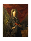 Portrait of Knight of Golden Fleece Giclée-tryk af Francesco Solimena