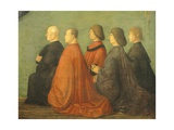 Miracle of Cross at Bridge of San Lorenzo Giclée-tryk af Gentile Bellini