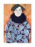 Portrait of Johanna Staude, 1917-1918 Giclée-Druck von Gustav Klimt