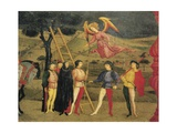 Predella of Miracle of Profaned Host Giclée-tryk af Paolo Uccello