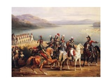 Battle of Salo, July 31, 1796 Giclee Print by Hippolyte Lecomte