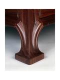 Art Nouveau Style Three-Tier Pedestal Table, Ca 1910 Giclée-Druck von Eugene Vallin