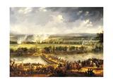 Passage of Arcole Bridge, November 17, 1796 Giclée-Druck von Antoine Charles Horace Vernet