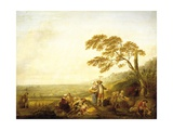 Four Hours of Day: Noon, 1774 Giclee Print by Louis Joseph Watteau