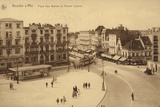 Postcard Depicting the Place Van Bunne and the Avenue Lippens Photographic Print
