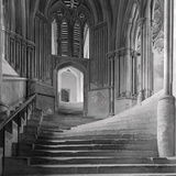 Interior Stairway of the Chapter House, Wells Cathedral Photographic Print by Frederick Henry Evans