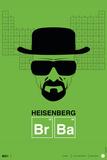 Heisenberg Poster Placa de plástico por  NaxArt
