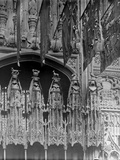 Detail of the Interior of Henry VII's Lady Chapel, Westminster Abbey Photographic Print by Frederick Henry Evans