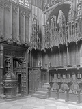 Interior of Henry VII's Lady Chapel, Westminster Abbey Photographic Print by Frederick Henry Evans