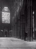 Interior of Westminster Abbey Looking Towards the West Entrance Photographic Print by Frederick Henry Evans