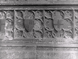 Coats of Arms on a Tomb at Westminster Abbey, London Photographic Print by Frederick Henry Evans