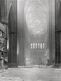 Interior of the North Transept, Westminster Abbey, London Photographic Print by Frederick Henry Evans