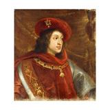 Portrait of Philip I of Spain, Bust-Length, Wearing the Order of the Golden Fleece Giclée-Druck von Cornelis de Vos