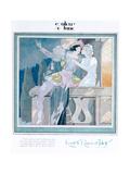 Romeo and Juliet in the Balcony Scene, Illustration from 'Femina' Magazine, December 1929 Giclee-trykk av Charles Martin