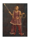 Dean, Detail from Sign of Aries, Scene from Month of March Giclee Print by Francesco del Cossa