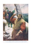 The Rime of the Ancient Mariner, Illustration from 'Stories from the Poets' Giclee Print by Arthur C. Michael