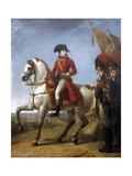 Napoleon Bonaparte with Soldiers after Battle of Marengo, 1800 Giclee Print by Antoine-Jean Gros