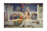 Allegory of Bad Government Giclée-tryk af Ambrogio Lorenzetti