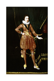 Portrait of King Charles I as the Prince of Wales Lámina giclée por Daniel Mytens