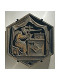 Jubal, Father of Players Upon the Harp and Organ, 1334-1336 Giclée-Druck von Nino Pisano