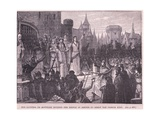 The Countess De Montford Inciting the People of Rennes to Resist the French King Ad 1341 Giclee Print by Charles Ricketts