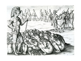 Morbo Sublati Postulata a Rege Giclee Print by Jacques Le Moyne