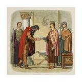 Henry Authorises Dermod to Levy Forces Reproduction procédé giclée par James William Edmund Doyle