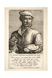 Pieter Coecke Van Aelst Giclee Print by Johan Wierix