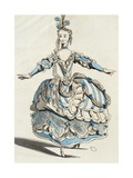 Sketch for Costume of Phrygian from Opera Dardanus Giclee Print by Jean-Philippe Rameau