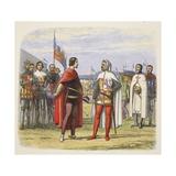 The Prince Extorts an Amnesty from Pedro the Cruel Reproduction procédé giclée par James William Edmund Doyle